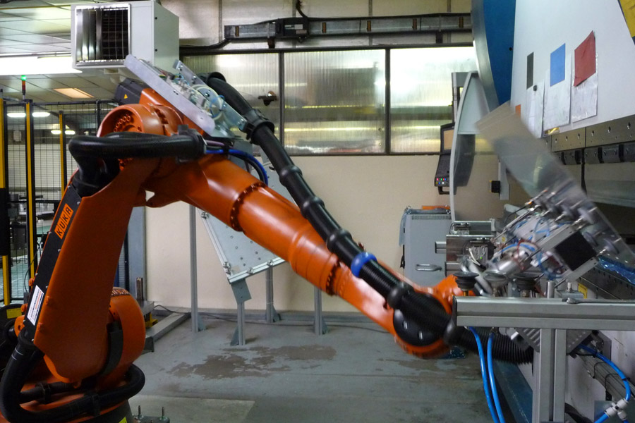 Tramétal : Pliage robotisé