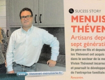 Article paru dans «Le Montmorillonnais en actions», lettre N° 13 : Success Story Menuiserie Thévenet