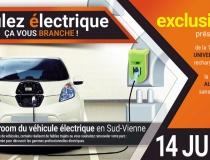 Le 14 juin à Saulgé : le 2e showroom du véhicule électrique en Sud-Vienne