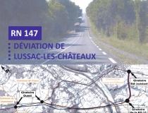 RN 147 – Déviation de Lussac-les-Châteaux : Dossier de C