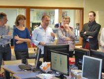 Nouvelle République : Jean-Moulin inaugure son «Fabrication laboraty»