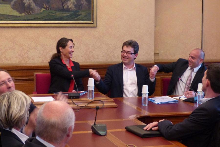 Rencontre et échanges avec Ségolène Royal, Ministre de l'écologie et du développement durable