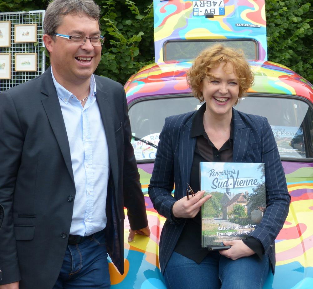 """Mai 2015 – Livre """"Rencontres en Sud-Vienne"""""""