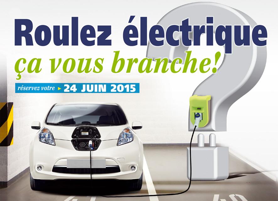 Juin 2015 – 1er salon du véhicule électrique