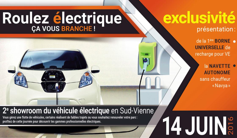 Juin 2016 – 2e showroom du véhicule électrique