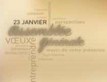 Invitation à l'Assemblée Générale – 23 janvier 2019 à Verrières