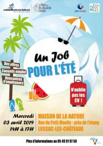 Jobs D Ete Sur Le Territoire Cesv Club Des Entrepreneurs Du Sud Vienne