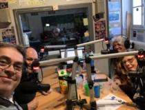 Dernière émission de Stéphane sur Radio Agora accompagné par la troupe CESV