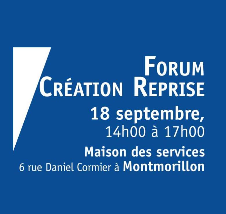 Forum création reprise