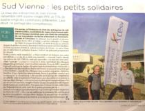 """Nouvelle République : """"Sud Vienne : les petits solidaires"""""""