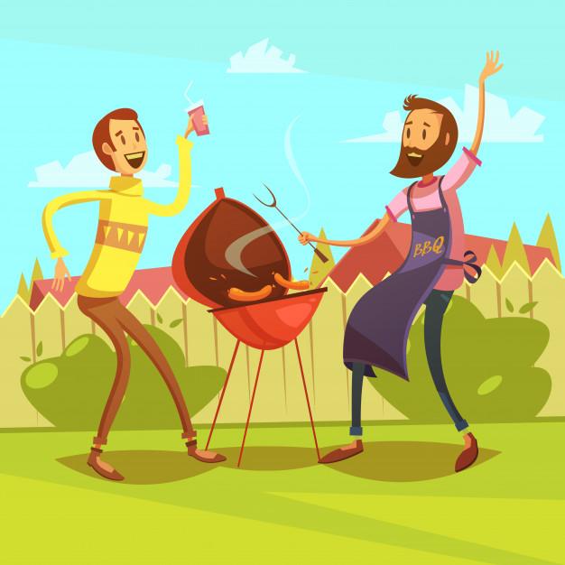 Barbecue pour les membre du CESV